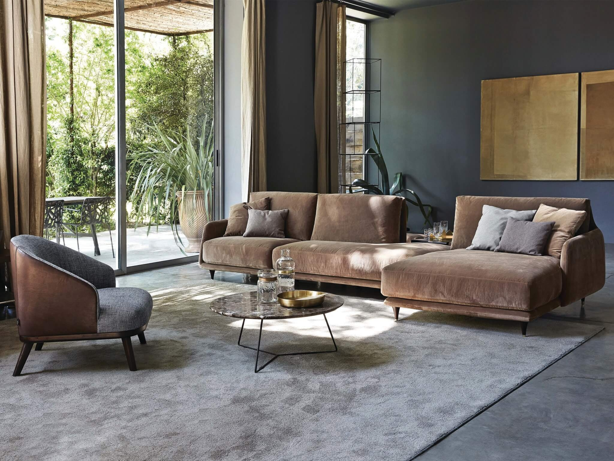 Inspiration About Elliot Sofa Sectional And Loveseat Archisesto Chicago  Throughout Elliott Sofa (#9 Of
