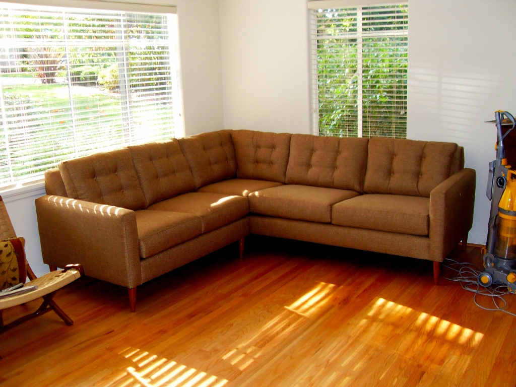 Enchanting Mid Century Sectional Sofa For Sale 81 With Additional Regarding Crate And Barrel Sectional Sofas (View 9 of 12)