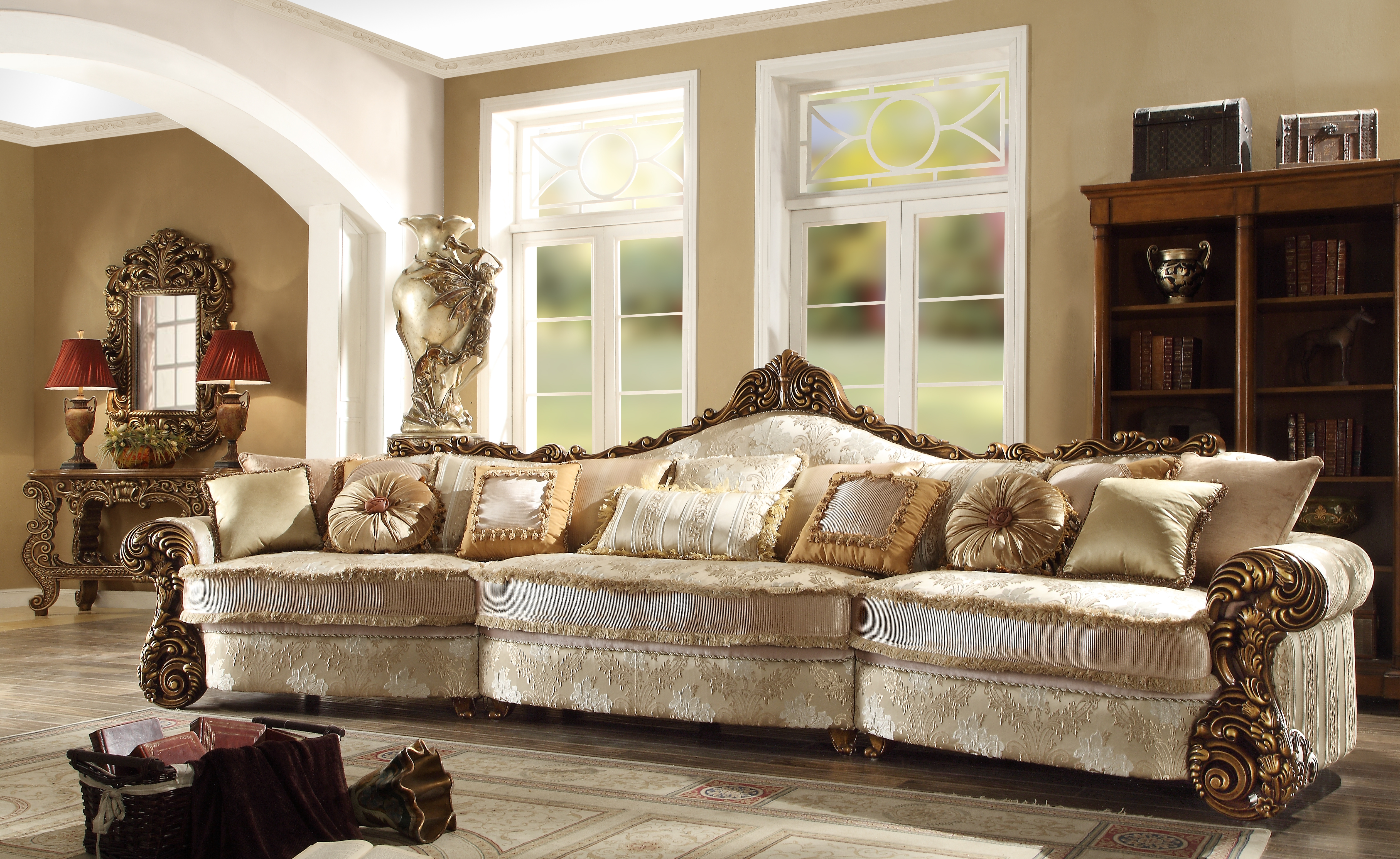 Inspiration About European Style Sectional Sofas Cleanupflorida Pertaining To 6 Of