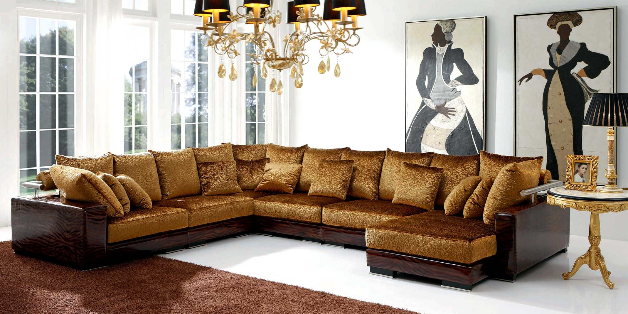 12 Ideas Of Expensive Sectional Sofas