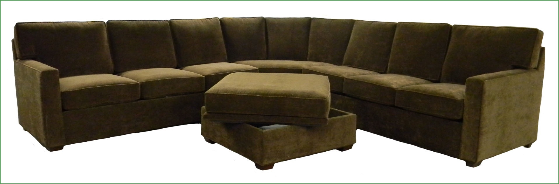 Finally A Sectional Couch Fit For An Sf Condo Custom Made Throughout Custom Made Sectional Sofas (#9 of 12)