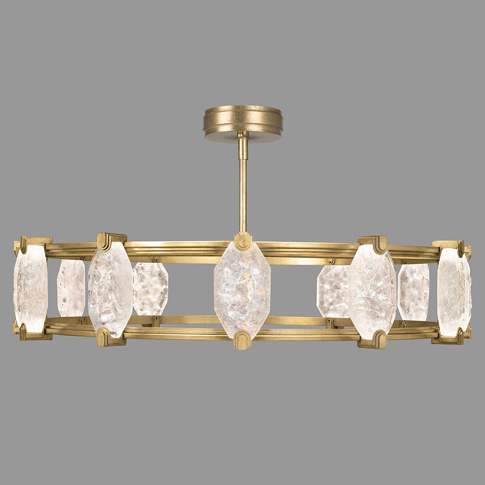 Popular Photo of Gold Modern Chandelier