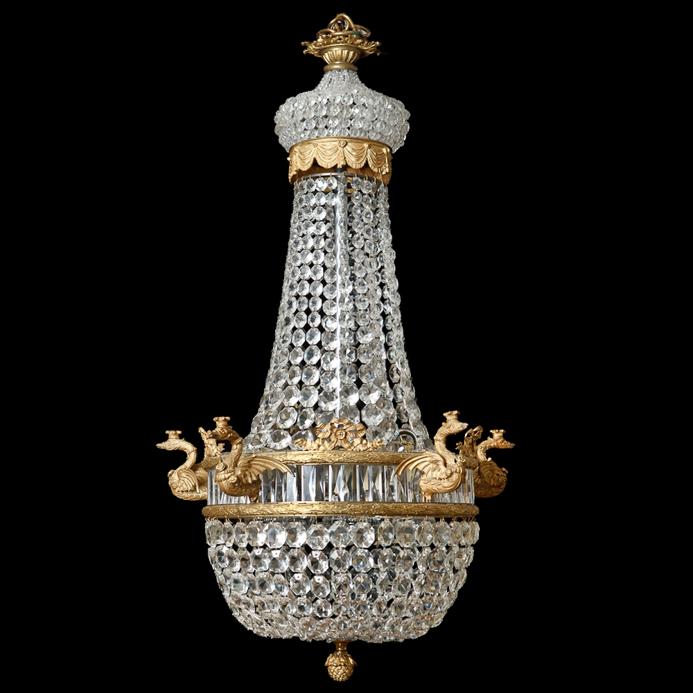 Popular Photo of French Antique Chandeliers