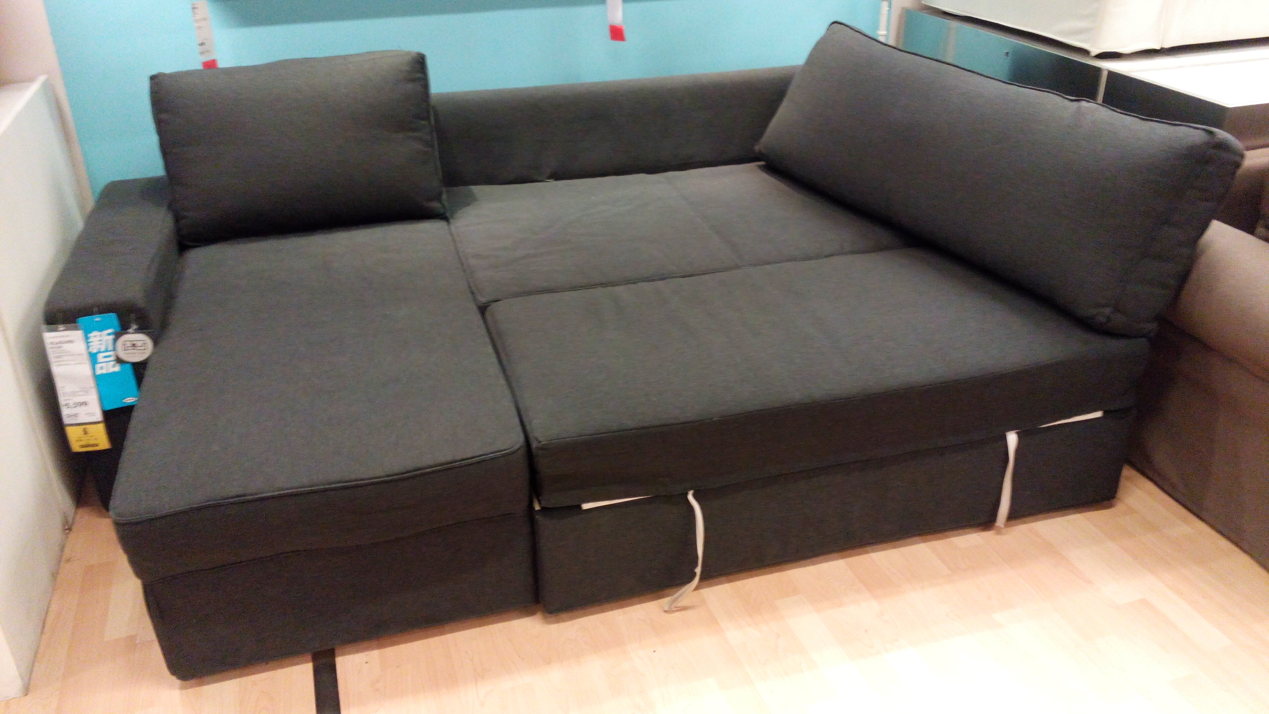 Furniture Luxury Sofa Bed Ikea For Home Furniture Ideas Nysben Intended For Corner Sofa Bed With Storage Ikea (#7 of 12)