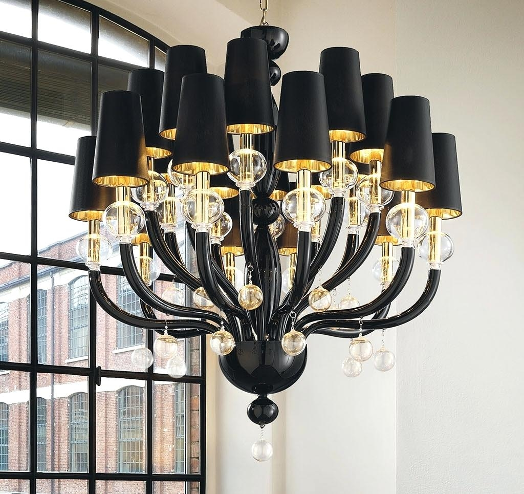 Gallery 74 Chandelier Free Shipping 8 Lights Black Glass Crystal With Black Glass Chandeliers (#8 of 12)