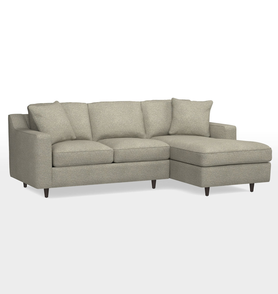 Inspiration about Garrison Small Sectional Sofa Small Sectional Sofa Sectional Inside Angled Chaise Sofa (#12 of 12)