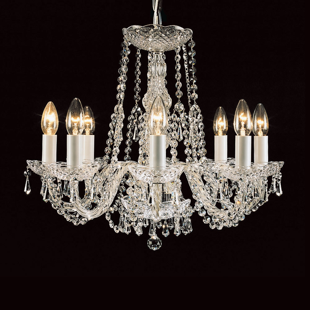 12 best of georgian chandeliers - Traditional crystal chandeliers ...