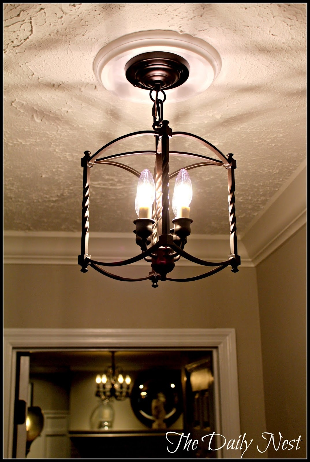 Popular Photo of Small Hallway Chandeliers