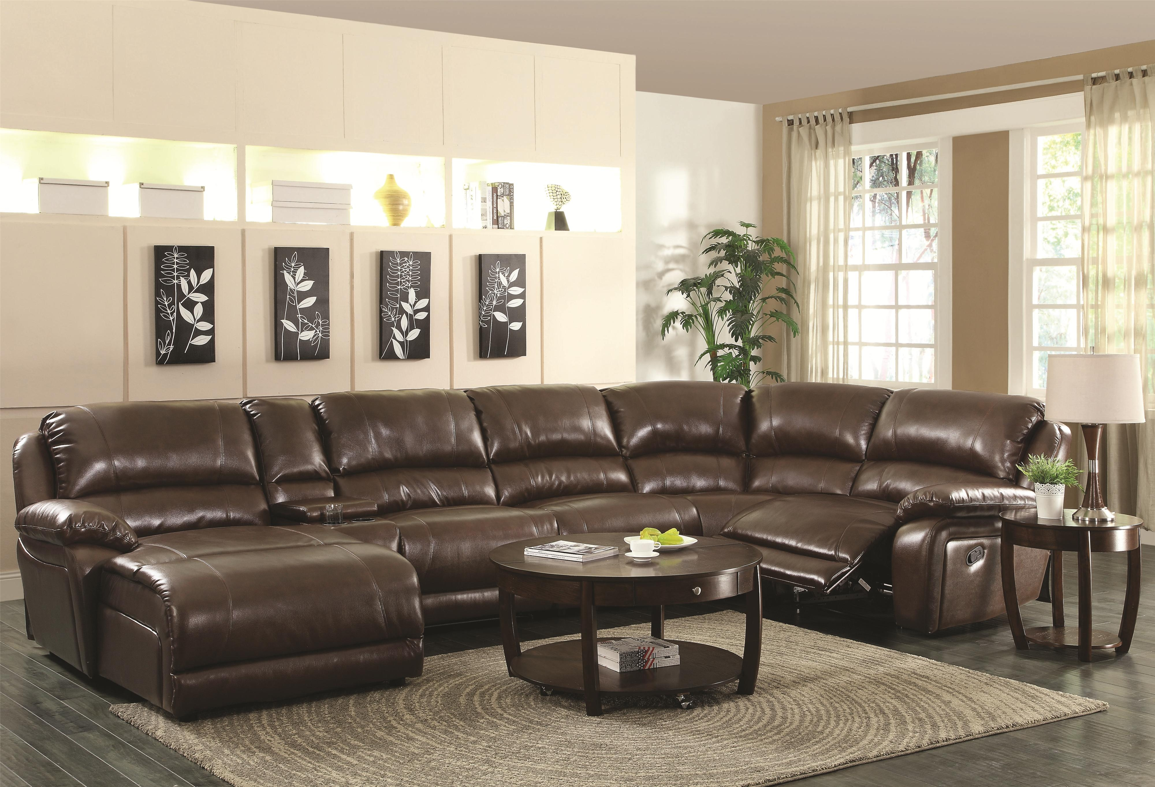 Glamorous Sectional Sofas With Recliners And Chaise 45 On Backless In Backless Sectional Sofa (#10 of 12)