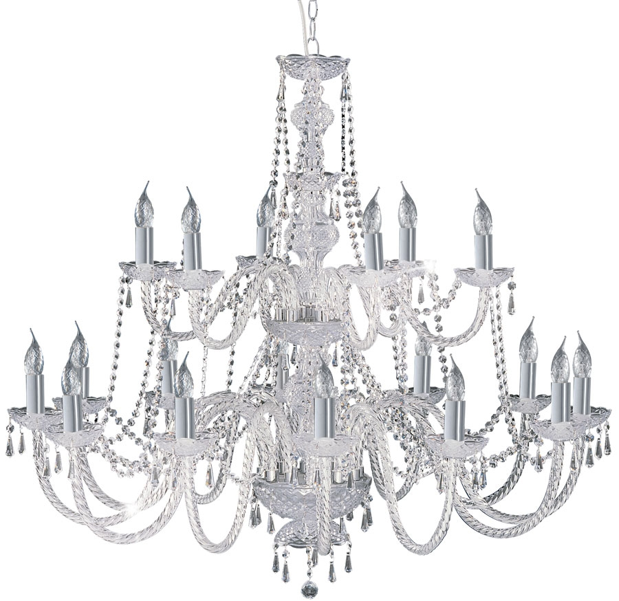 Hale Georgian Style 8 Light Crystal Chandelier 218 8 With Regard To Georgian Chandelier (#5 of 12)