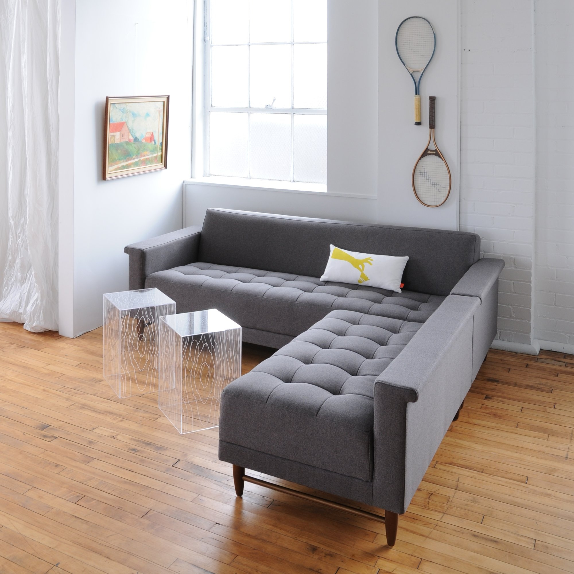 Harbord Loft Bi Sectional Reviews Allmodern For Bisectional Sofa (#8 of 12)