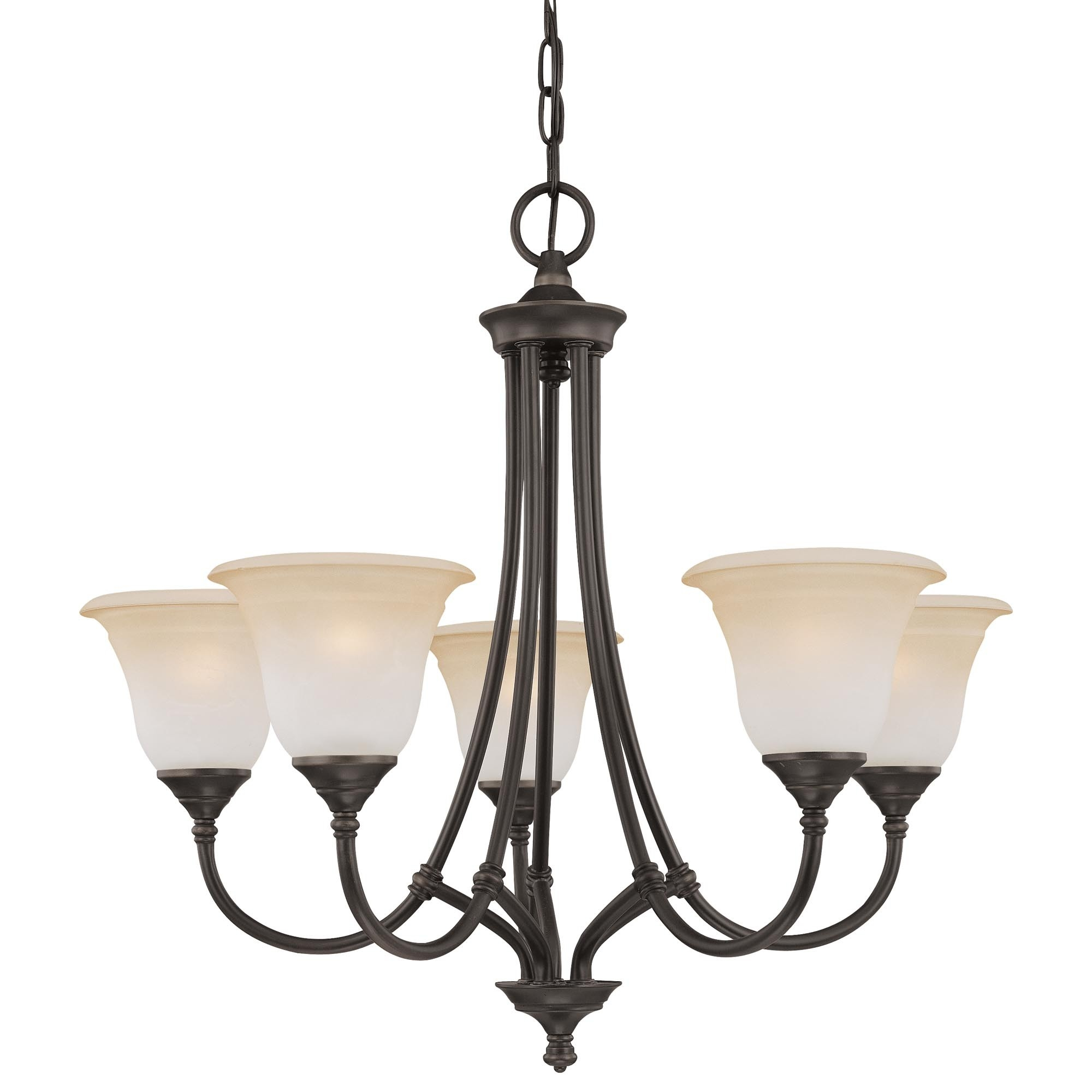 Harmony 5 Light Chandelier In Aged Bronze Finish Sl880162 Within Chandelier Lights (#11 of 12)