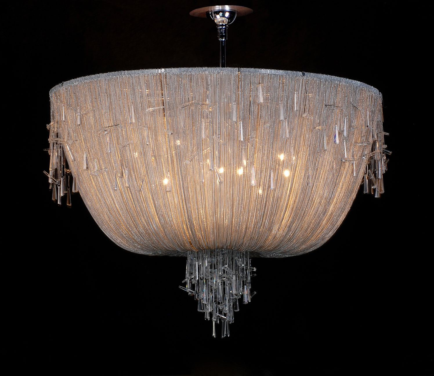 Home Bespoke Italian Chandeliers Hand Blown Glass Lighting Regarding Italian Chandeliers Contemporary (#3 of 12)