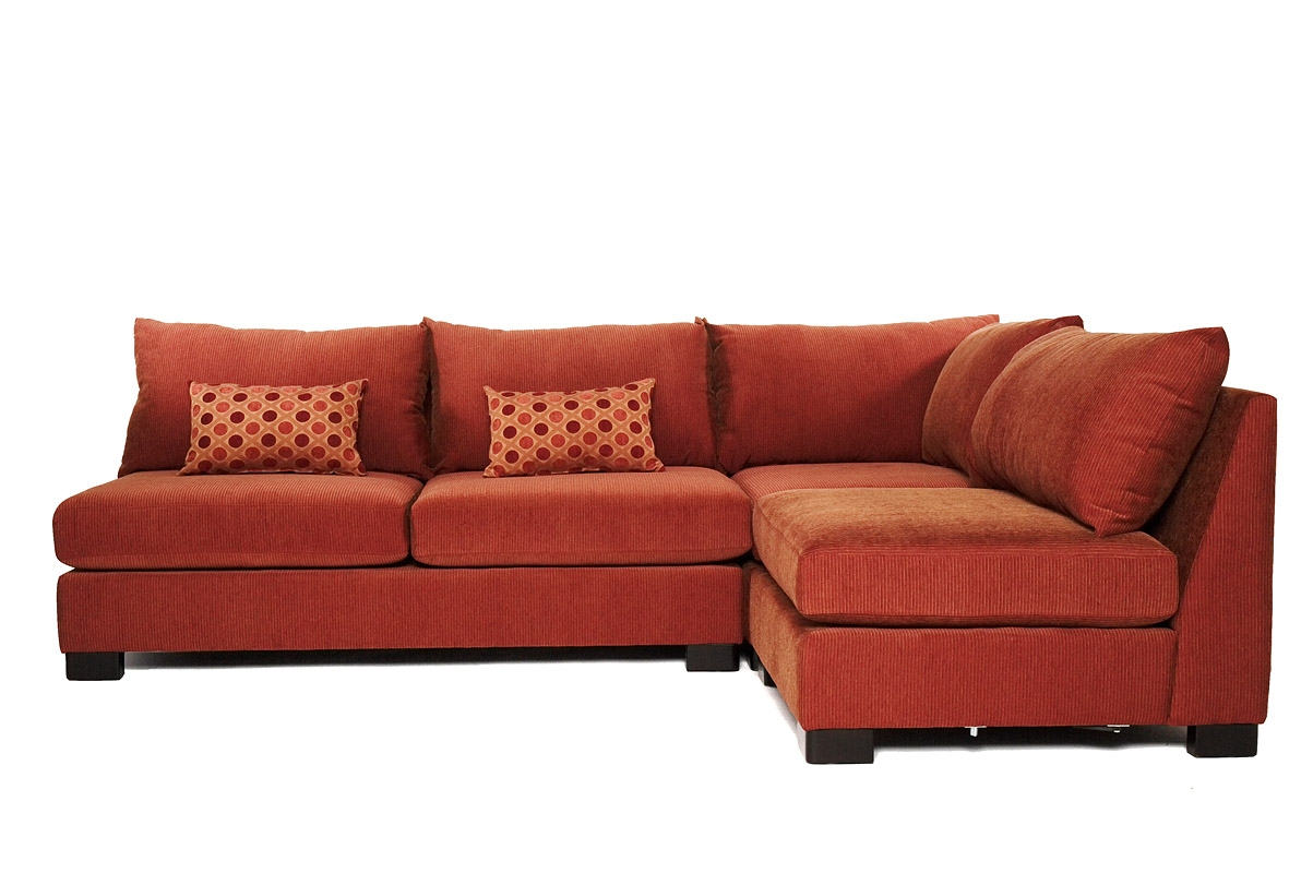 How To Decorate Sectional Couch Modern Home Interiors With Regard To Armless Sectional Sofas (#10 of 12)