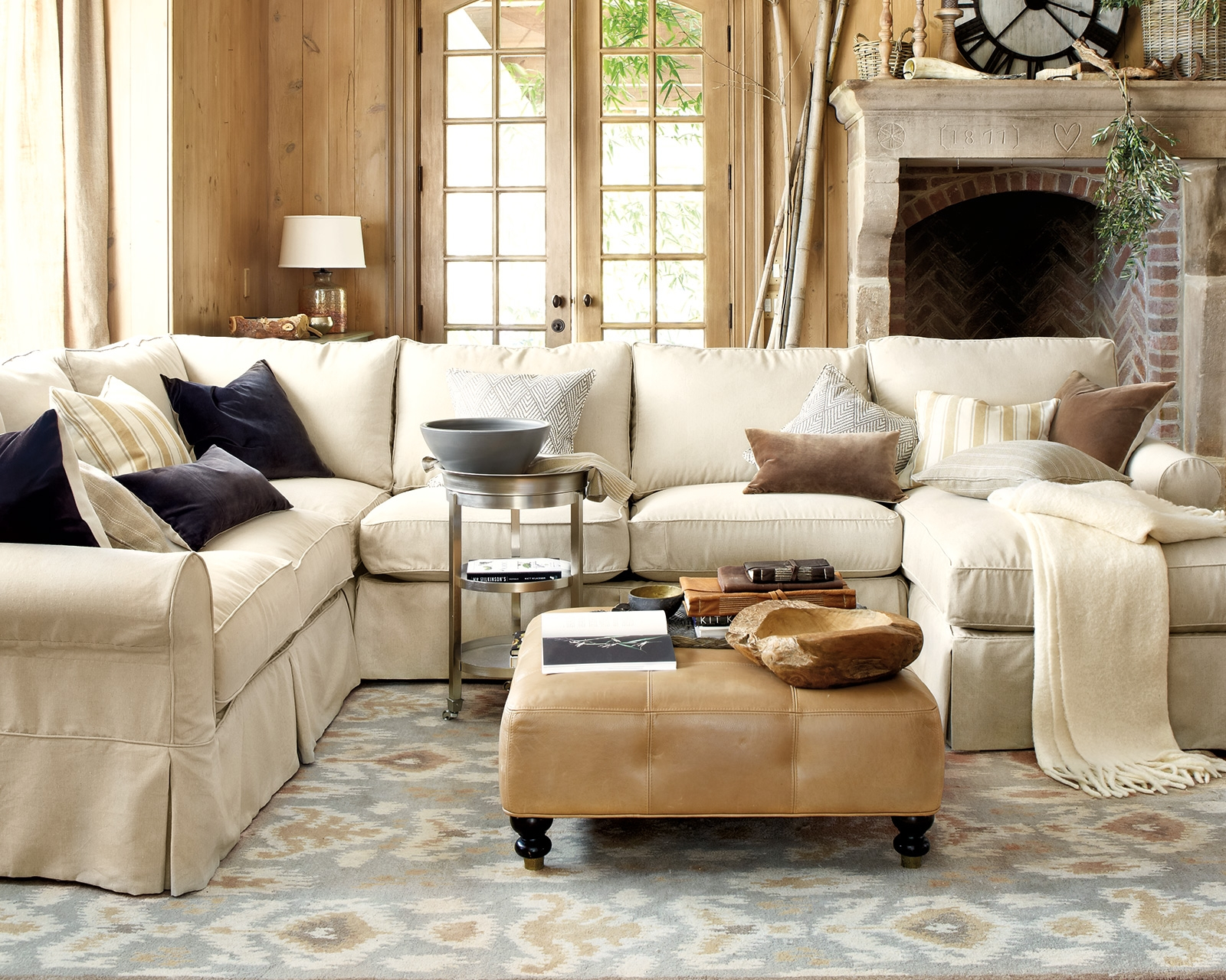 How To Match A Coffee Table To Your Sectional How To Decorate With Regard To Coffee Table For Sectional Sofa (#10 of 12)