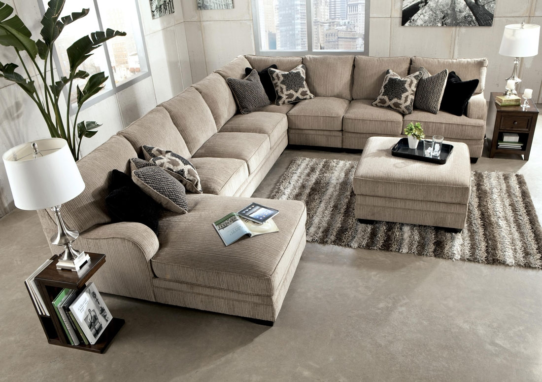 Huge Sectional Sofas Best Home Furniture Ideas In 7 Seat Sectional Sofa (#8 of 12)