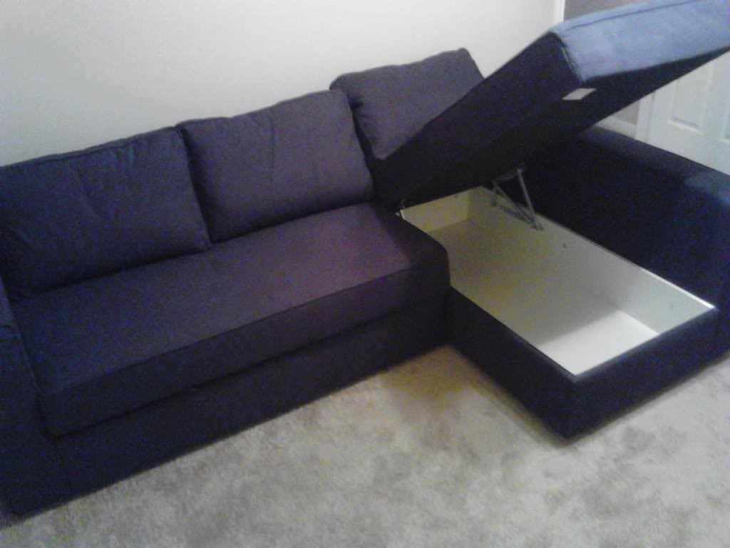 Ikea Sofa Bed Solsta From Review Hacks With Storage Beds Mattress For Corner Sofa Bed With Storage Ikea (#9 of 12)