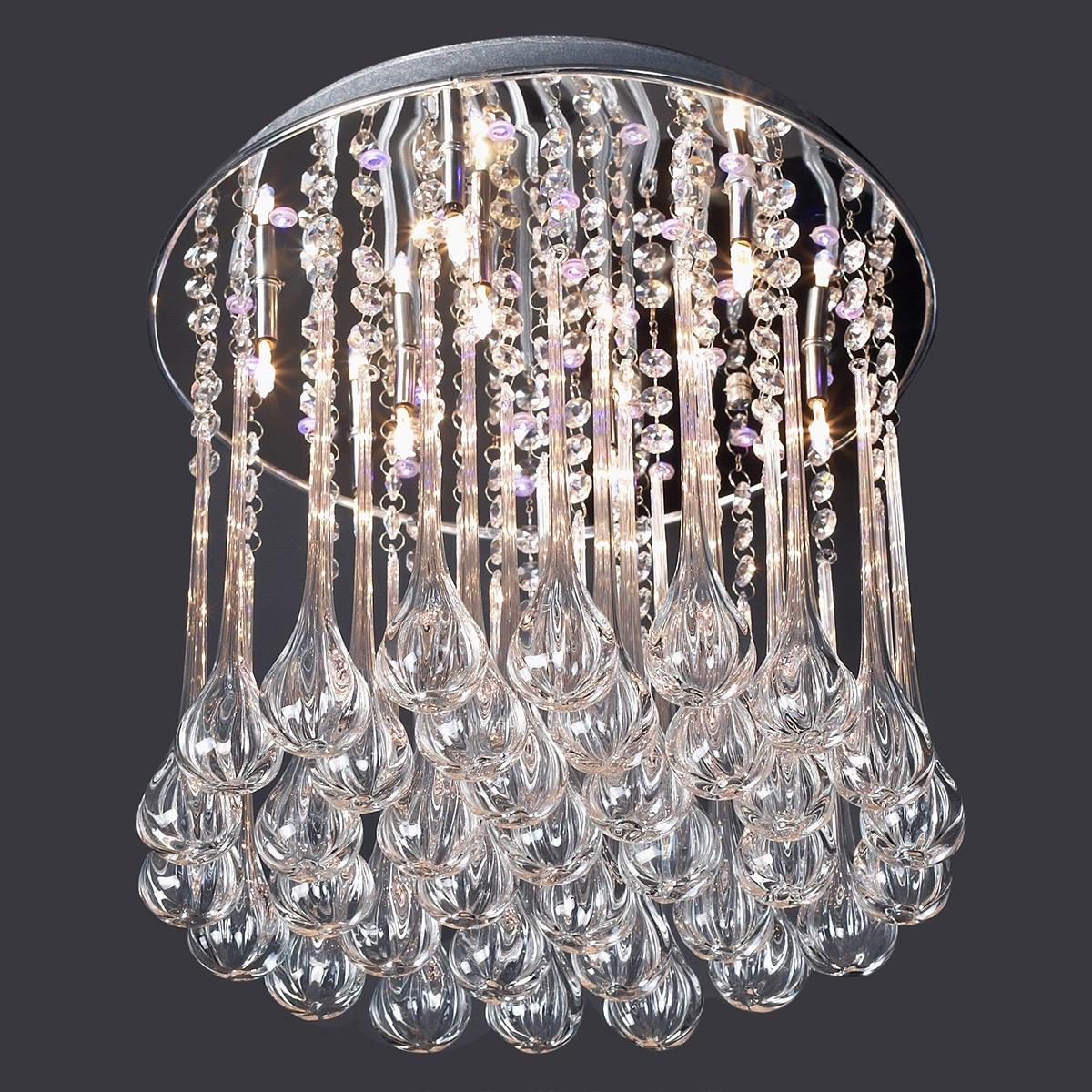 Incredible Impressive Unique Crystal Chandeliers Lighting Unique Regarding Crystal Chandeliers (#8 of 12)