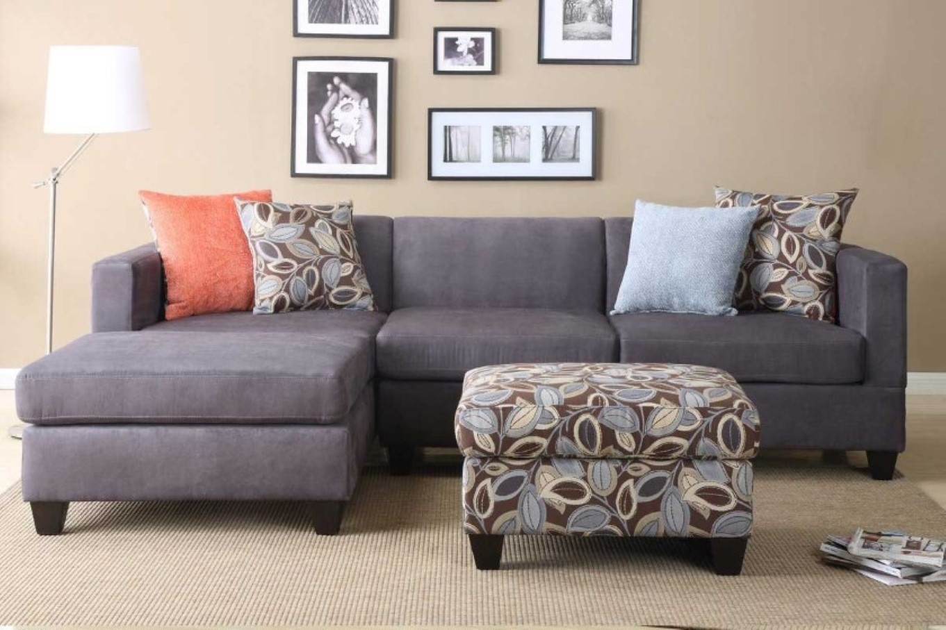 Incredible Microfiber Sleeper Sofa Top Home Design Ideas With Grey For 3 Piece Sectional Sleeper Sofa (#6 of 12)