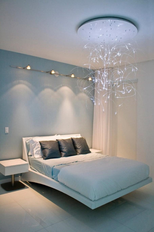 Inexpensive Chandeliers For Bedroom Lightupmyparty Intended For Bedroom Chandeliers (#6 of 12)