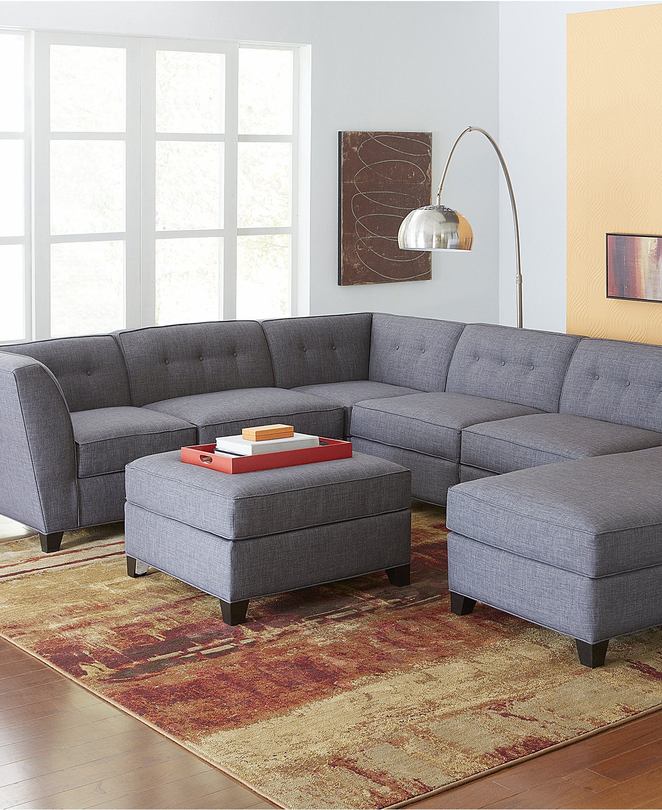 Interesting Gray Modular Sectional Sofa 83 For Sectional Sofas With Regard To Craigslist Sectional Sofa (#8 of 12)