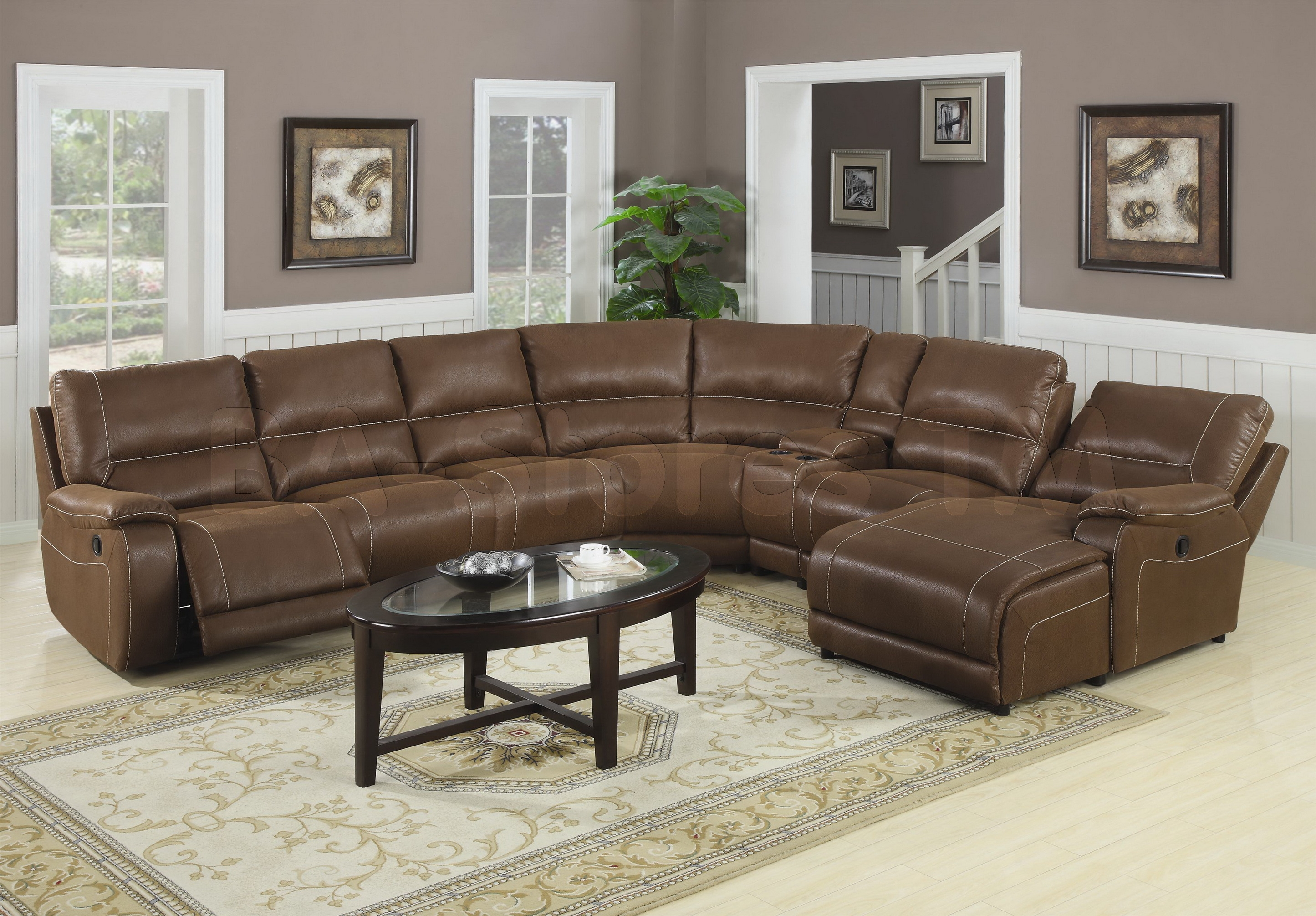 Interior Luxury Oversized Sectional Sofa For Awesome Living Room With Regard To Extra Large Sectional Sofas (#9 of 12)