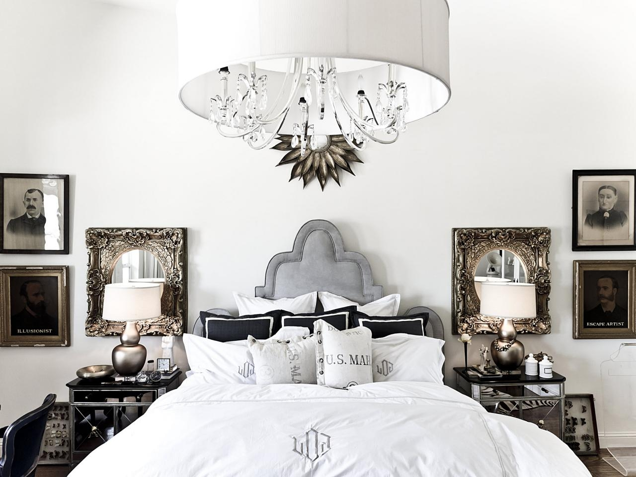 Lamps Ceiling Chandeliers Modern White Chandelier Ceiling Light With Regard To Bedroom Chandeliers (#7 of 12)