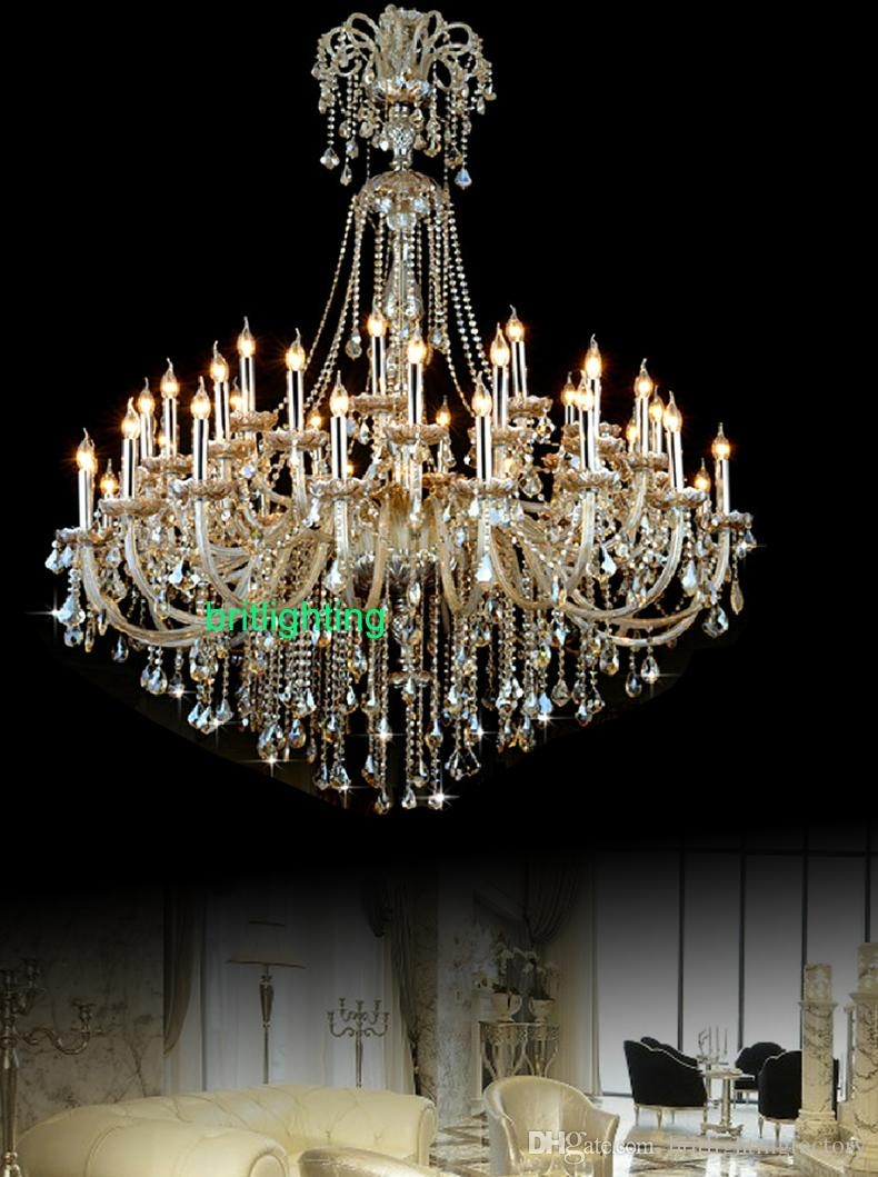 Large Antique Chandelier Antique Furniture Throughout Huge Crystal Chandeliers (#8 of 12)