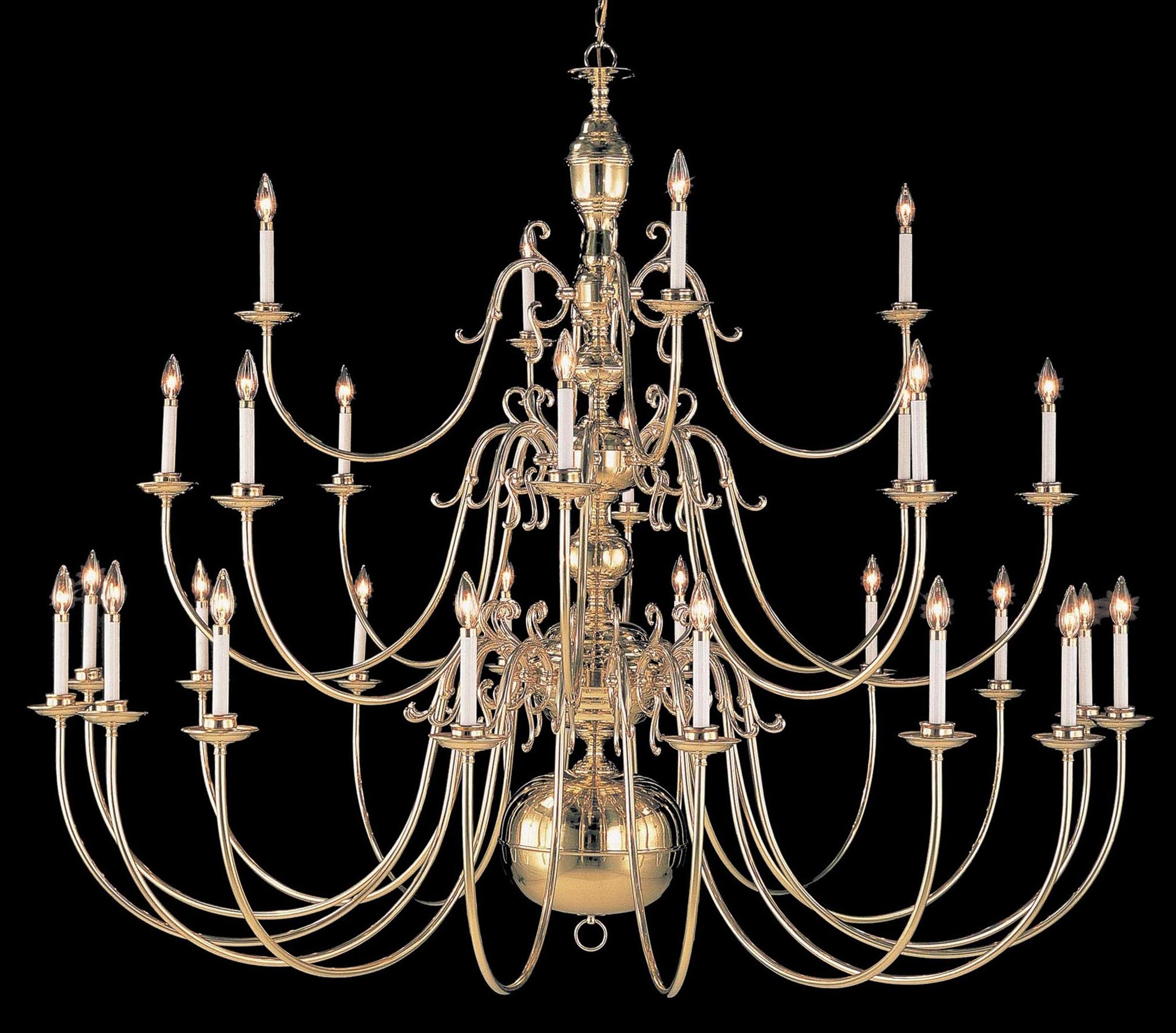 Largelighting Brassbronze Chandeliers With Regard To Large Brass Chandelier 6 Of 12