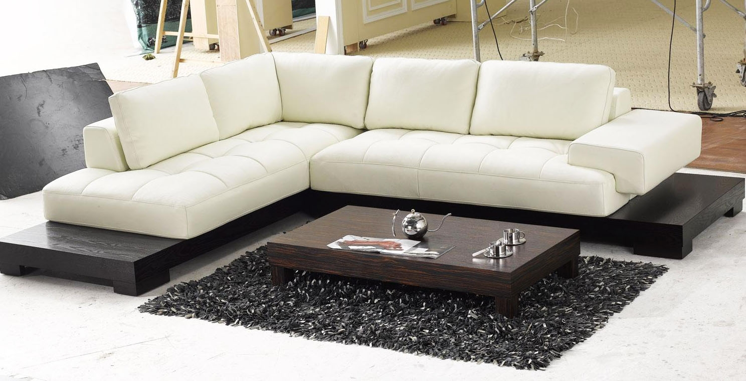 Latest Trend Of Low Profile Sectional Sofas 77 About Remodel Down Within Down Feather Sectional Sofa (#11 of 12)