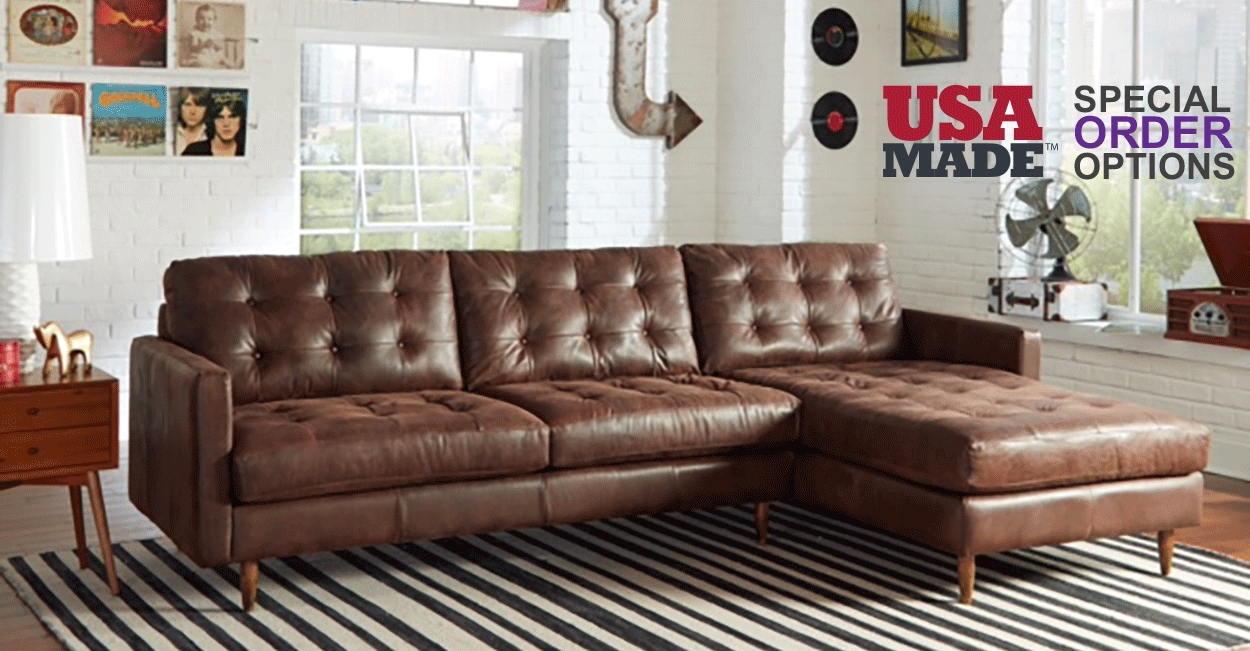 Leather Furniture For Any Room In Milwaukee Wi Biltrite Furniture In American Made Sectional Sofas (#7 of 12)