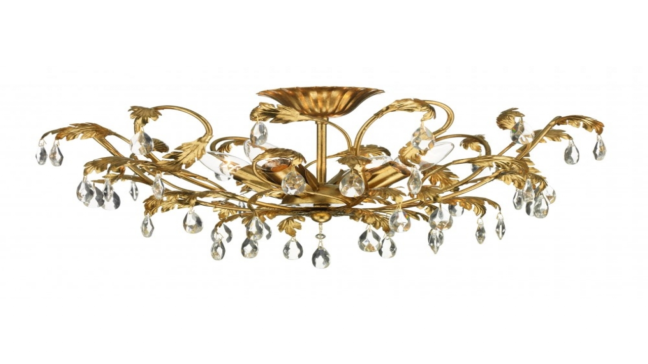 Lighting For Low Ceilings Chandelier For Low Ceiling Lighting Intended For Low Ceiling Chandelier (#9 of 12)