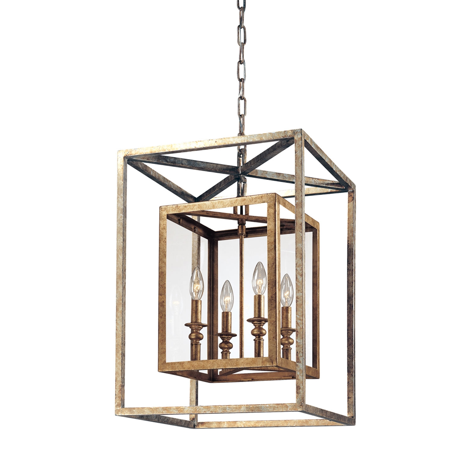 Lighting Interesting Lantern Pendant Light For Modern Kitchen With Regard To Indoor Lantern Chandelier (#9 of 12)