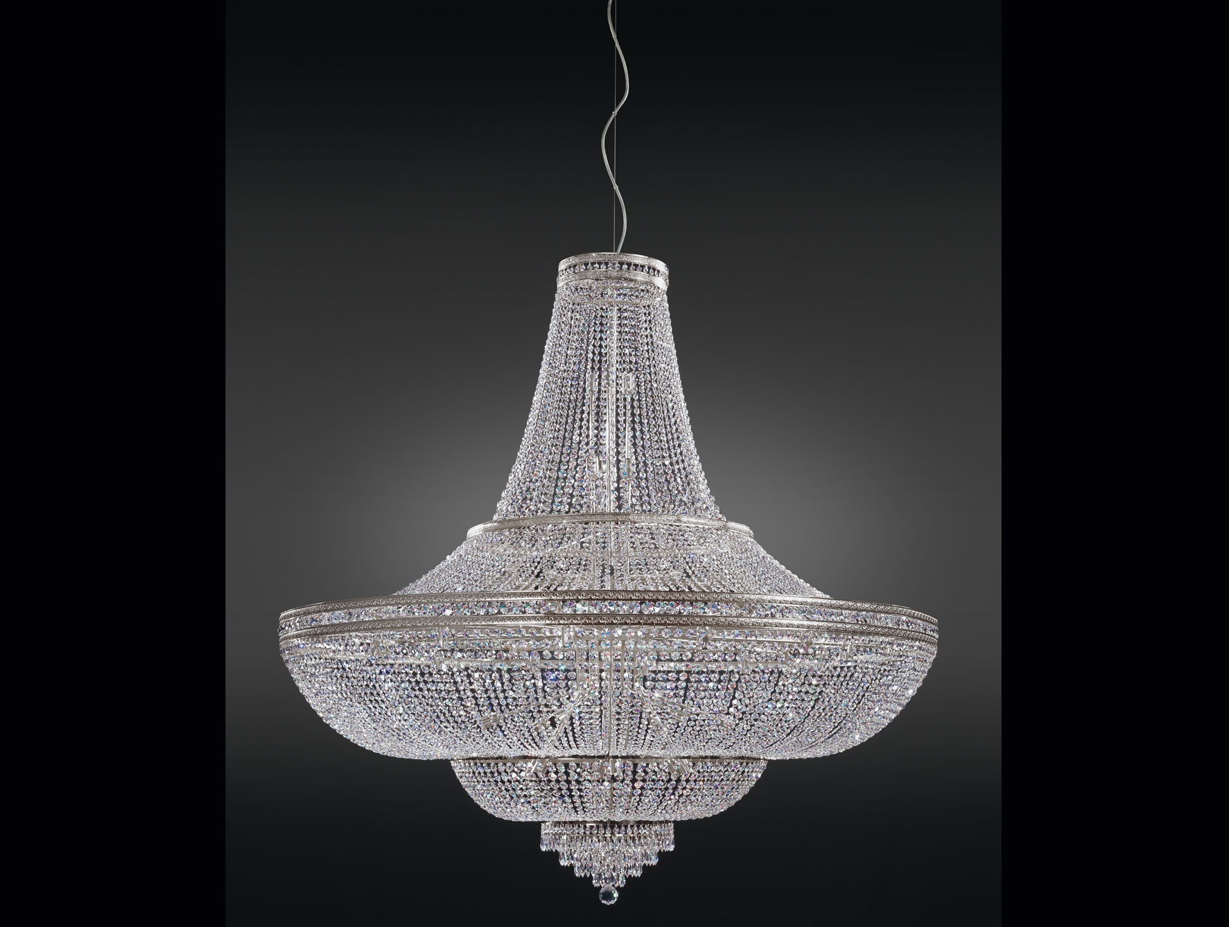 Living Room Modern Led Chandeliers Waterford Crystal Chandelier With Regard To Modern Led Chandelier (#6 of 12)