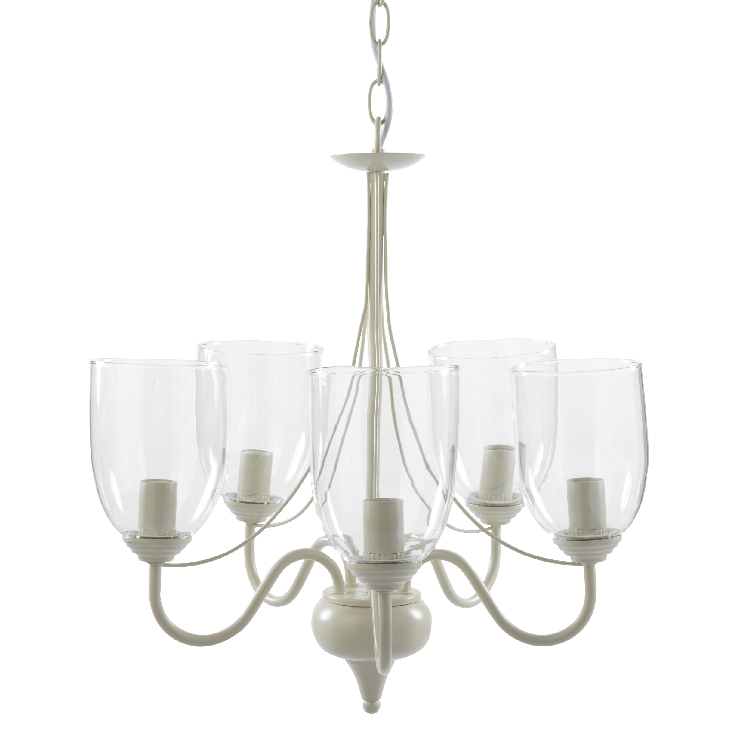 Milnsbridge Cream 5 Light Chandelier At Laura Ashley In Cream Chandelier Lights (#10 of 12)