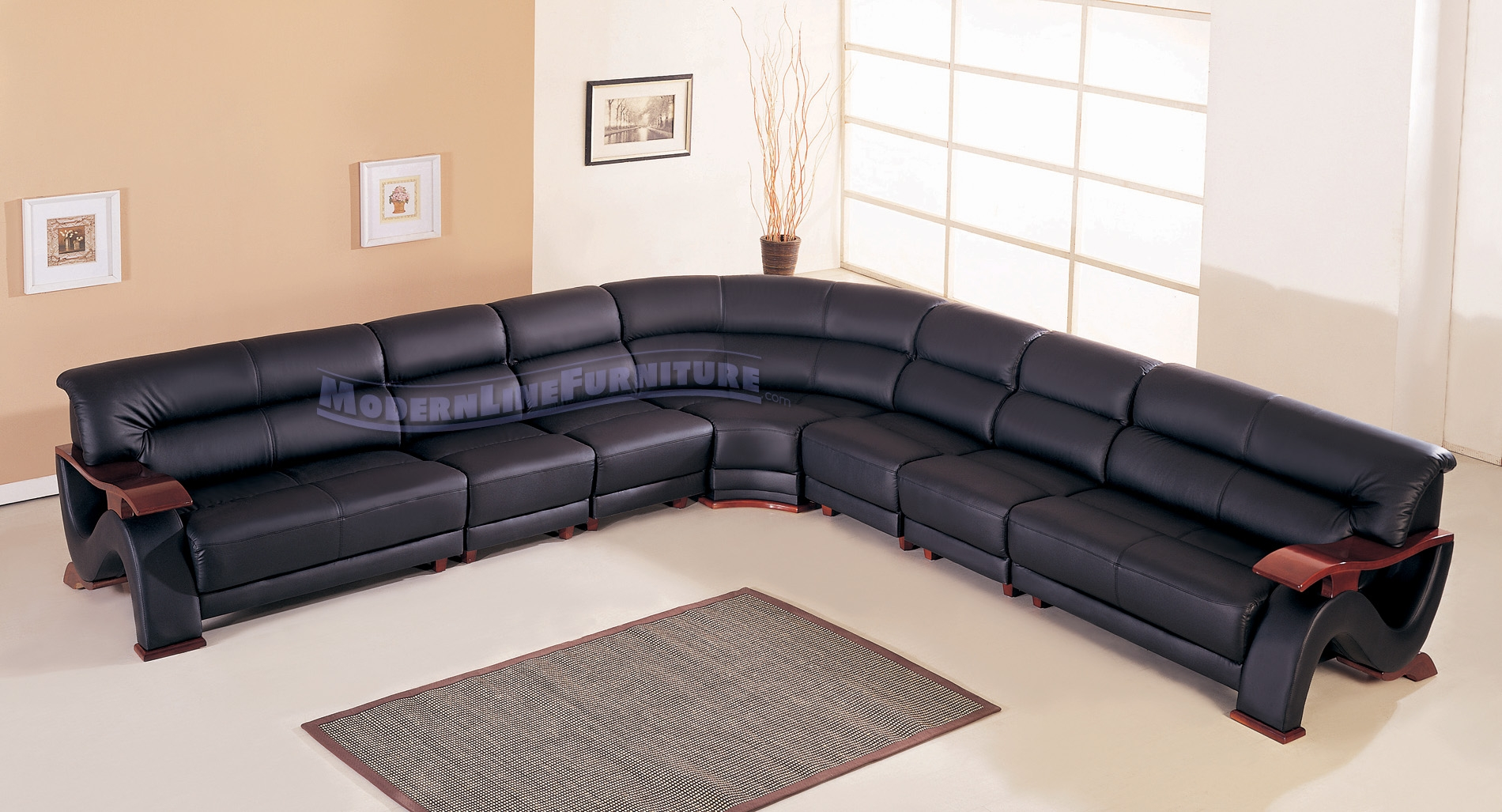Modern Line Furniture Commercial Furniture Custom Made Inside Custom Made Sectional Sofas (#10 of 12)