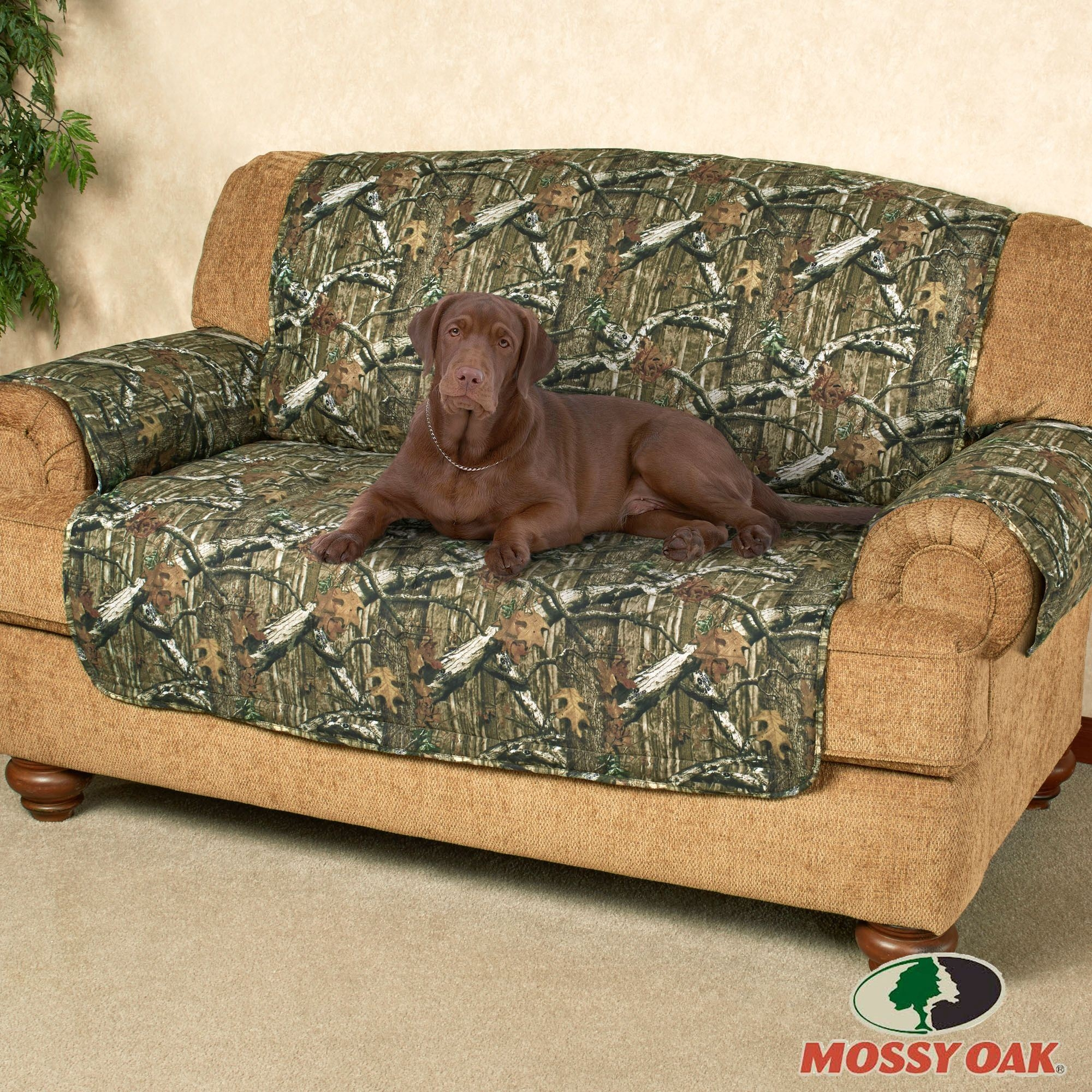 Mossy Oak Break Up Infinity Camo Furniture Protectors Pertaining To Camo Sofa Cover (#7 of 12)