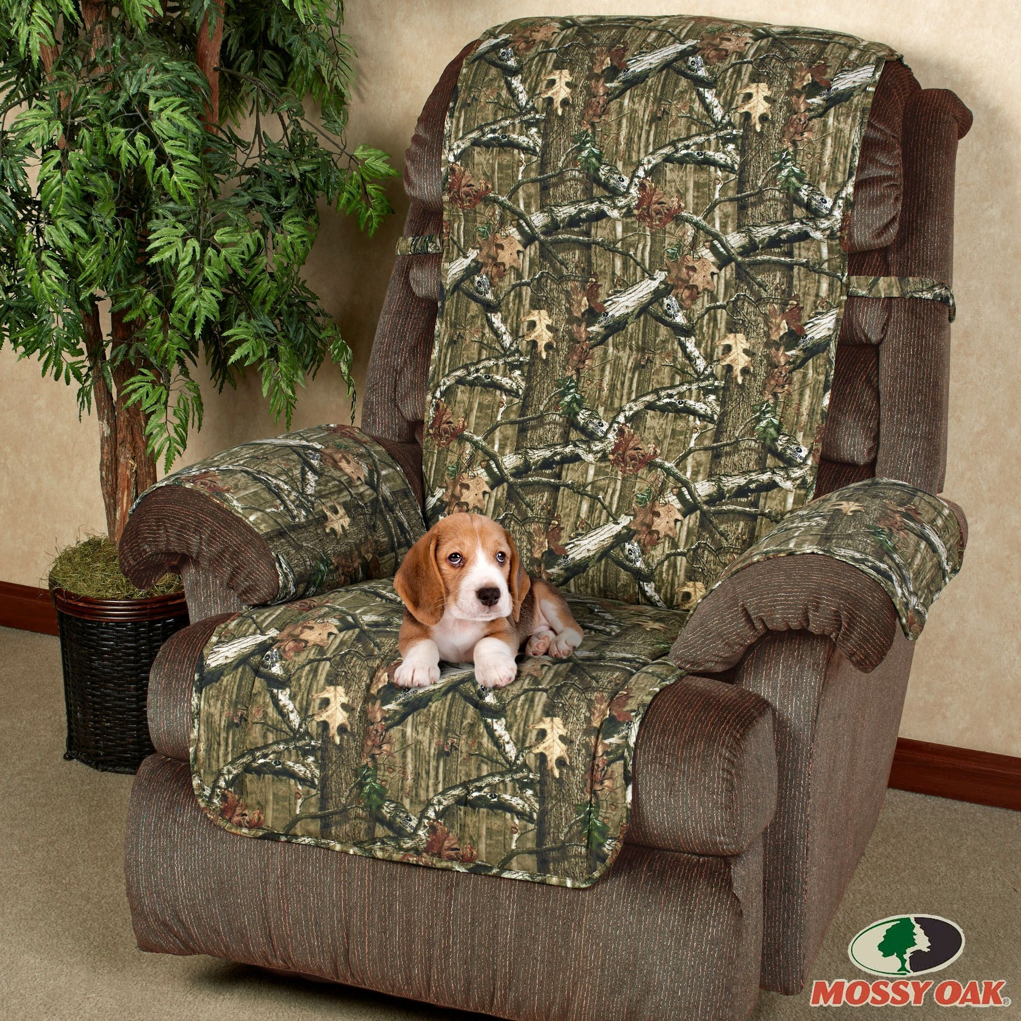 Mossy Oak Break Up Infinity Camo Furniture Protectors Pertaining To Camo Sofa Cover (#6 of 12)