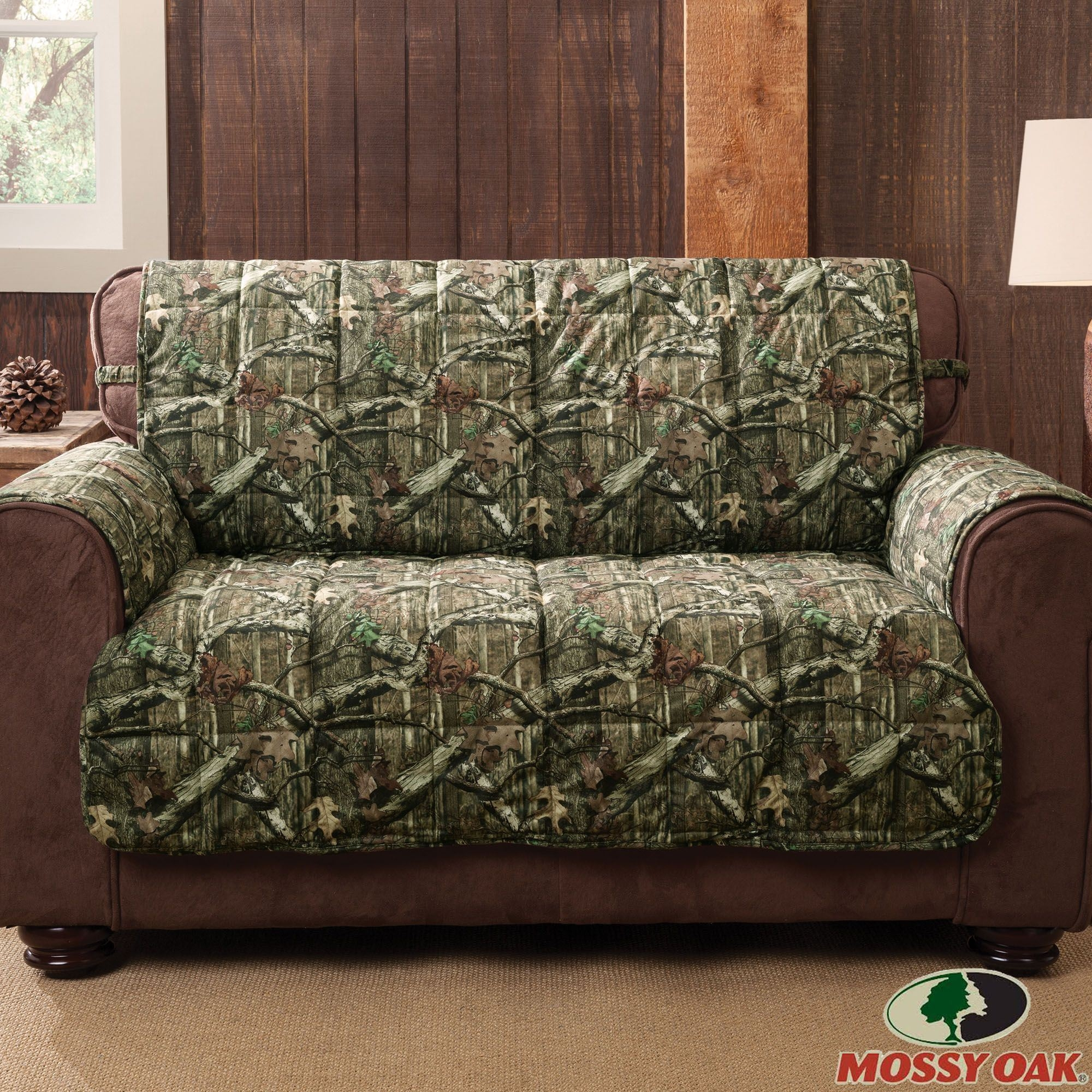 Mossy Oak Break Up Infinity Camo Furniture Protectors With Camo Sofa Cover (#8 of 12)