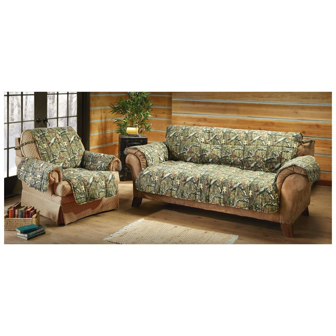 Mossy Oak Camo Furniture Covers 647980 Furniture Covers At For Camo Sofa Cover (#9 of 12)