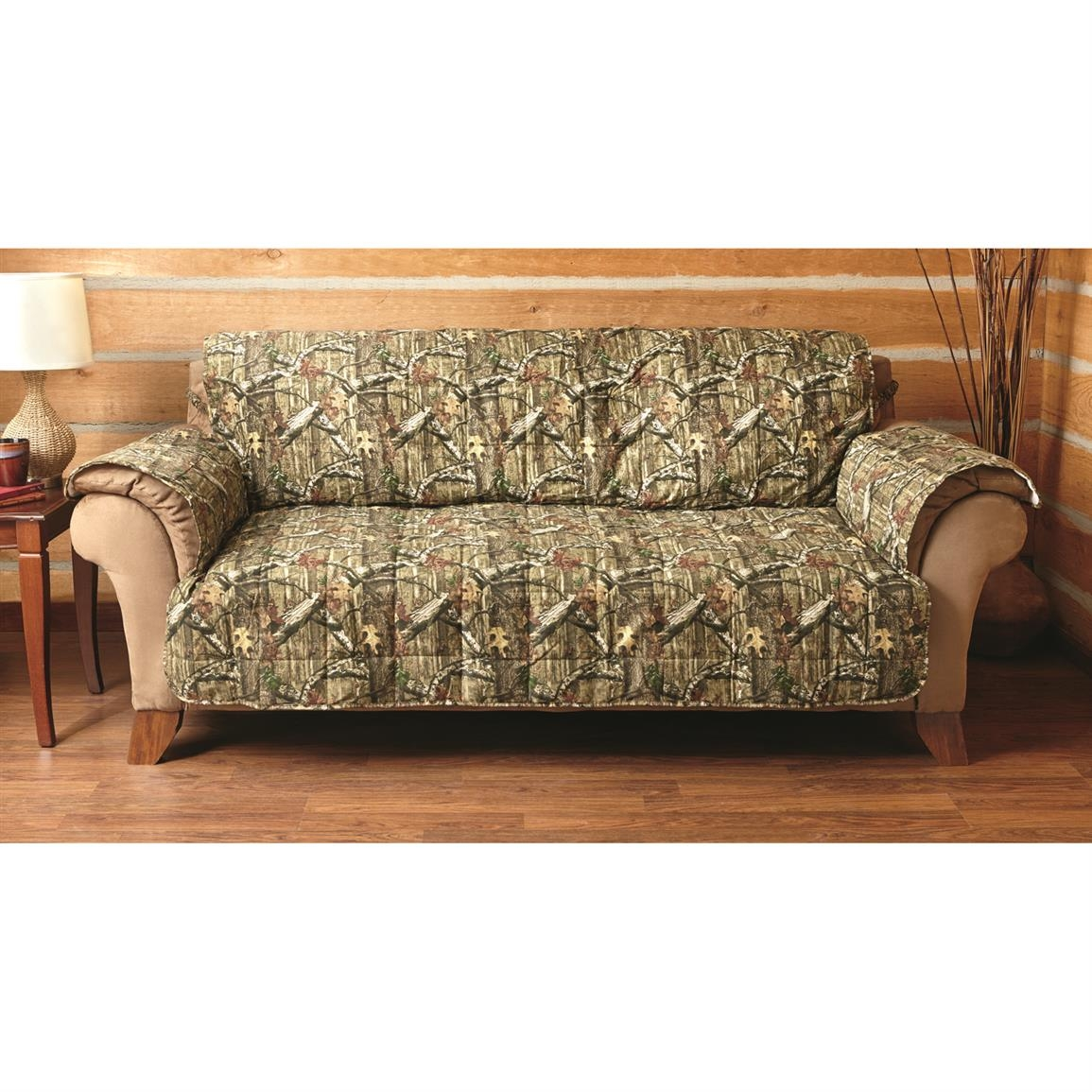 Mossy Oak Camo Furniture Covers 647980 Furniture Covers At Pertaining To Camo Sofa Cover (#12 of 12)