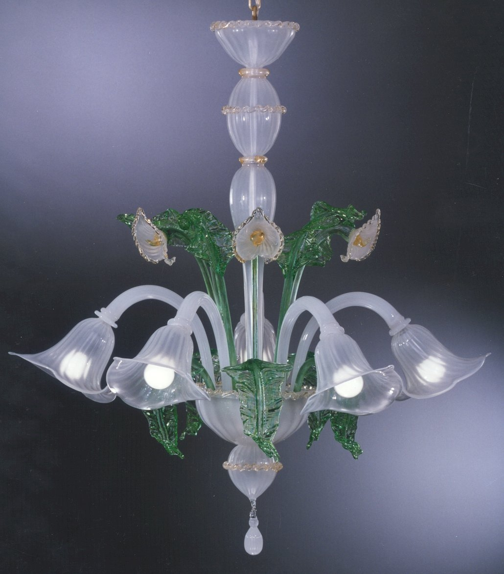 Murano Borghese Bespoke Italian Chandeliers Hand Blown Glass Regarding Italian Chandeliers Contemporary (#11 of 12)