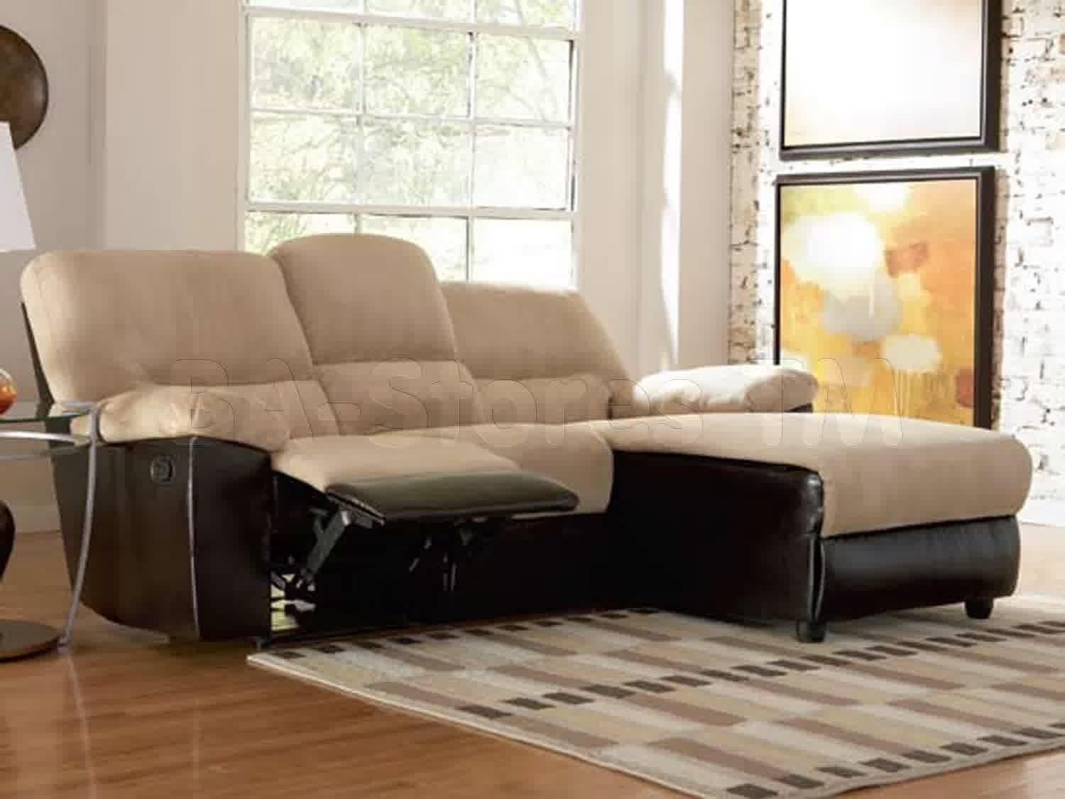 Double chaise couch lounge sofa bed double size floor for What size sectional for my room