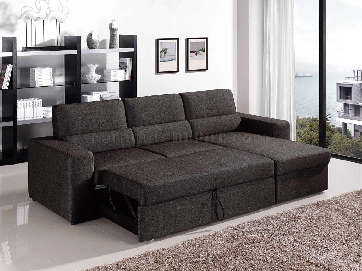 New Convertible Sectional Sofas 81 About Remodel Diana Dark Brown For Diana Dark Brown Leather Sectional Sofa Set (#7 of 12)