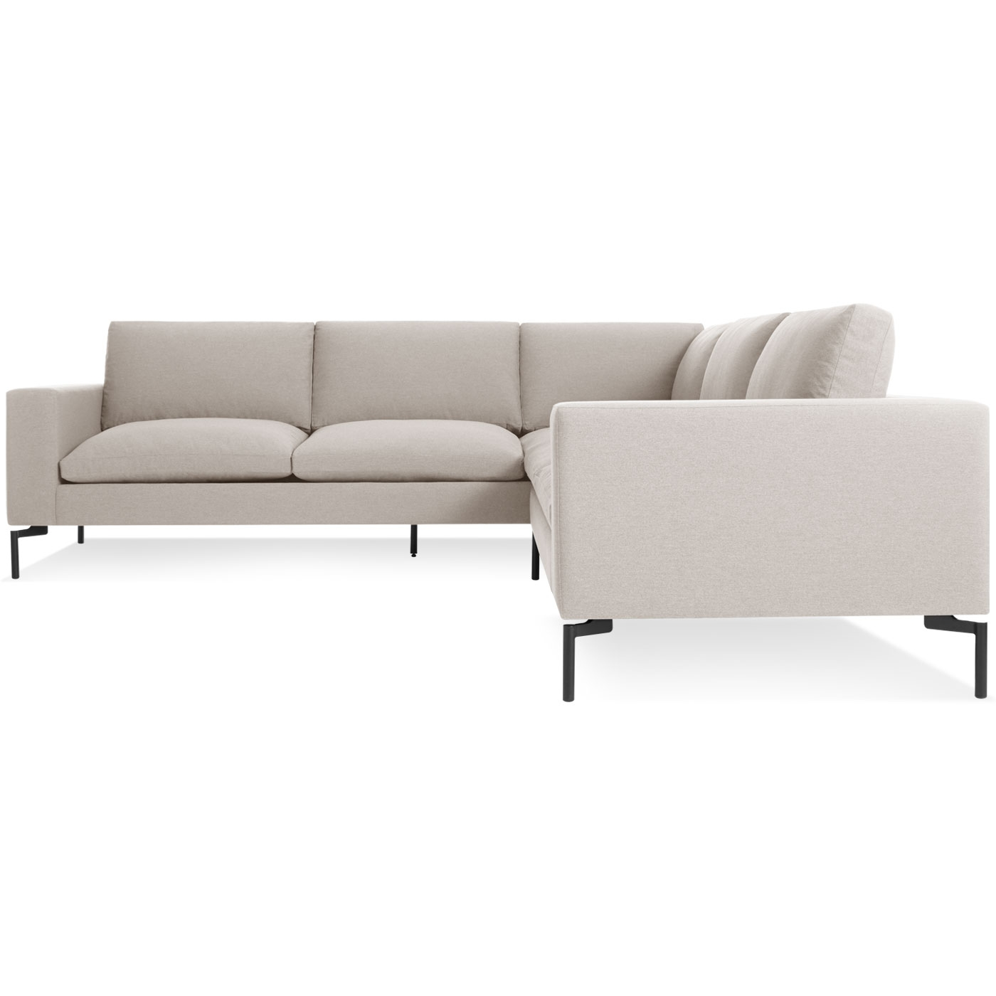 New Standard Small Sectional Sofa Modern Sofas Blu Dot With Regard To Small Sectional Sofa (#5 of 12)