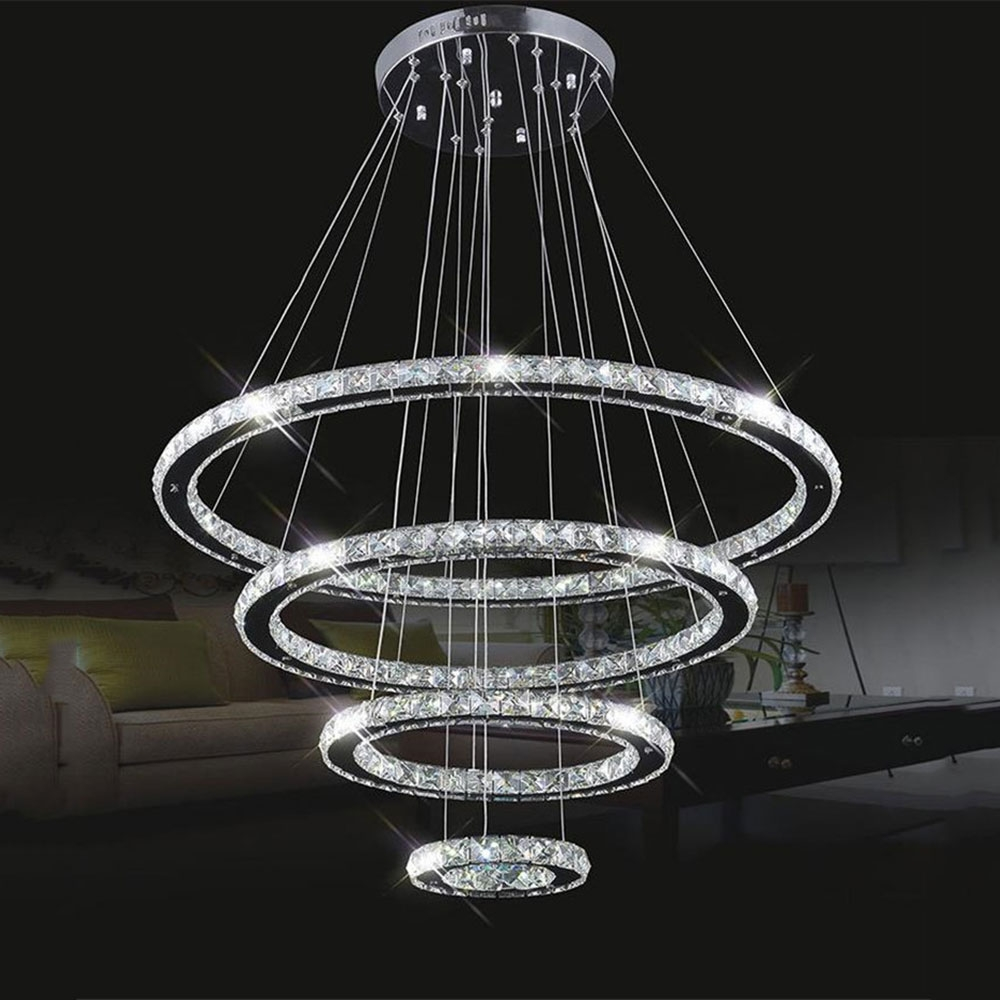 Online Buy Wholesale Modern Led Chandelier From China Modern Led Inside Modern Led Chandelier (#10 of 12)