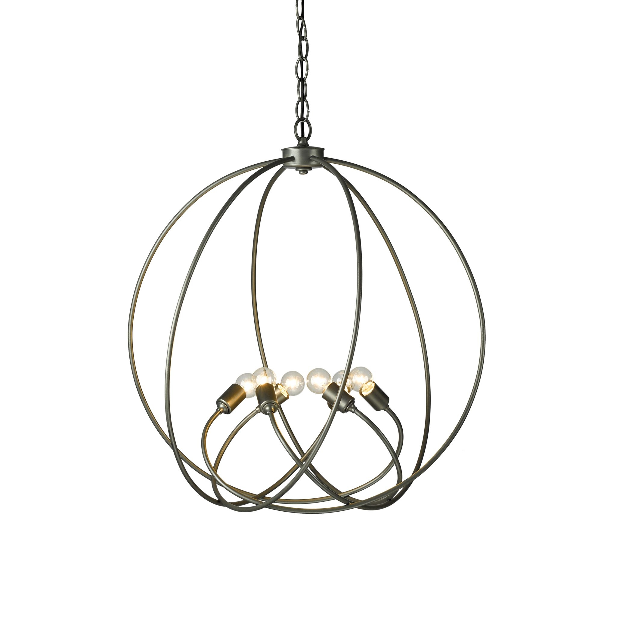 Orb Chandelier Hubbardton Forge For Orb Chandelier (#11 of 12)