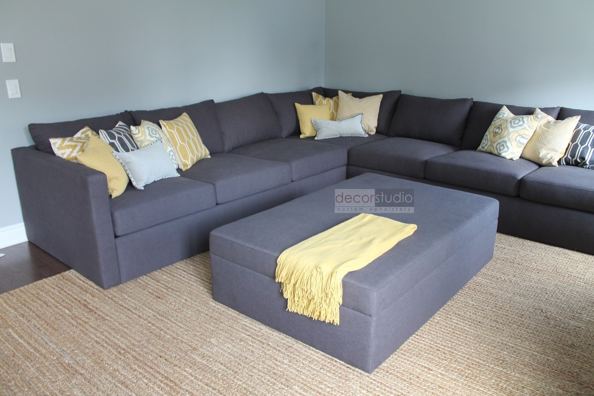 Outstanding Customized Sectional Sofa 25 For Reclining Sectional With Regard To Customized Sofas (#12 of 12)