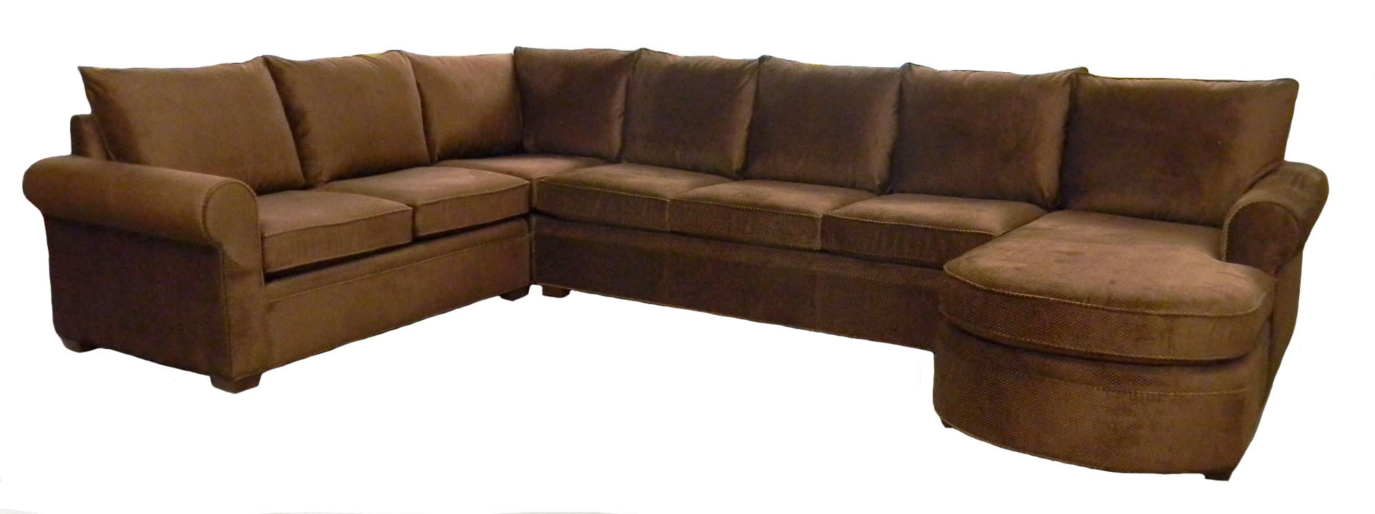 Photos Examples Custom Sectional Sofas Carolina Chair Furniture Pertaining To 7 Seat Sectional Sofa (View 3 of 12)
