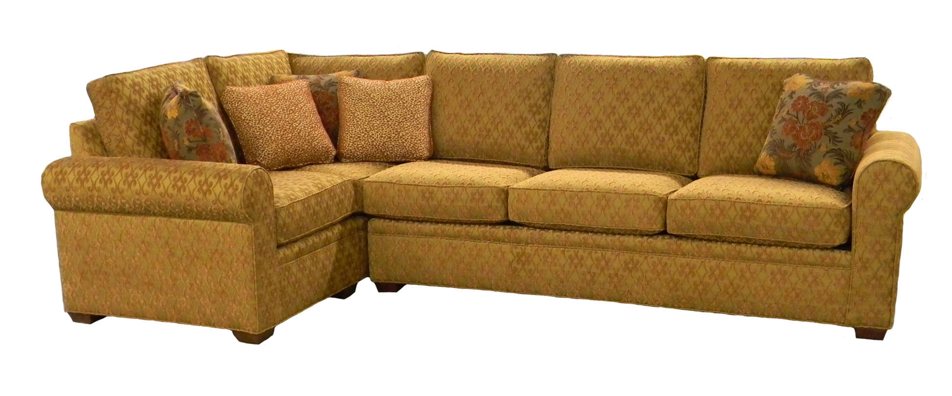 Photos Examples Custom Sectional Sofas Carolina Chair Furniture Throughout Compact Sectional Sofas (#8 of 12)